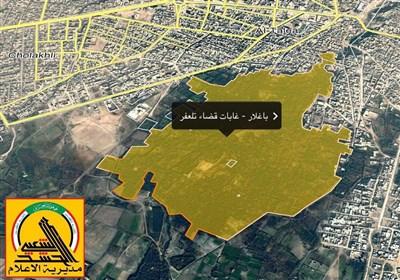 القوات العراقیة تمشط بساتین باغلار وسط تلعفر