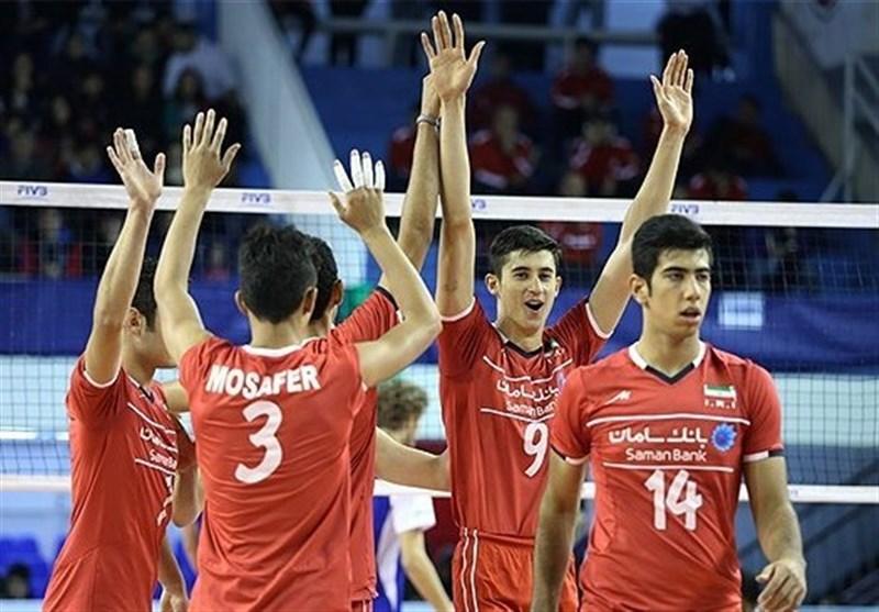 انڈر نائنٹین والیبال ورلڈ کپ؛ ایرانی ٹیم فائنل میں پہنچ گئی