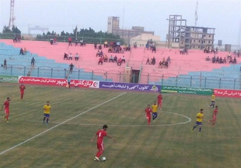 تیم ایرانجوان بوشهر همچنان در حسرت پیروزی است
