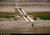 خشکی سد مخزنی مجموعه عباس آباد - بهشهر