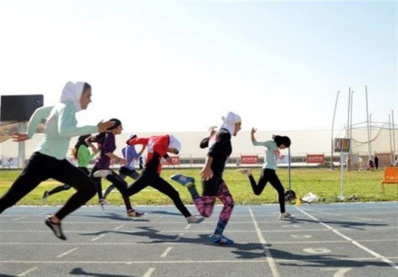 ورزشکاران دوومیدانی خراسان رضوی به جای چوب با کش تمرین میکنند
