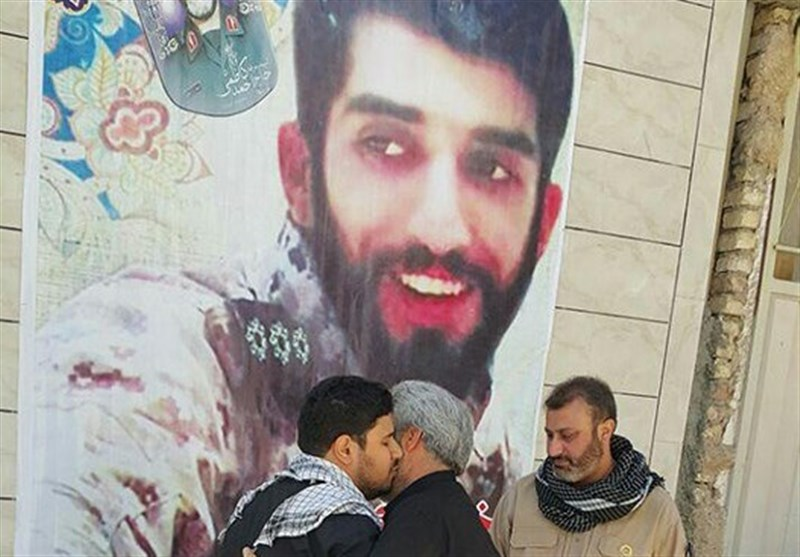 کاروان حزبالله به محل مبادله پیکر مطهر شهید حججی رسید