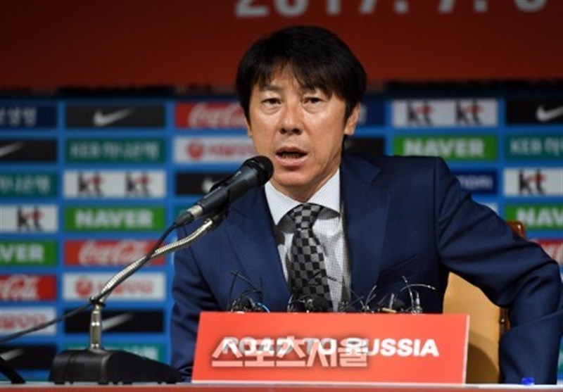 We Are Determined to Beat Iran, S. Korea Coach Shin Says