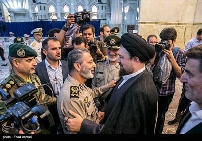 ایران کے نئے آرمی چیف کا امام خمینی کے مزار پر تجدید عہد