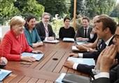 مرکل از طرح ماکرون برای آینده اتحادیه اروپا حمایت کرد