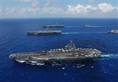 ورود ناو هواپیمابر آمریکایی به دریای مدیترانه