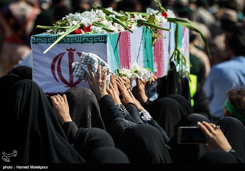 تشییع و تدفین شهید گمنام دفاع مقدس در نیروی زمینی سپاه