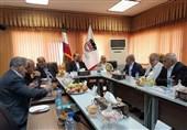 وزیر صنعت از خطوط تولید و نورد ذوبآهن اصفهان بازدید کرد