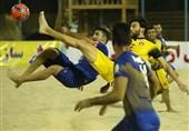 تداوم صدرنشینی دریانوردان پارس جنوبی در لیگ برتر فوتبال ساحلی