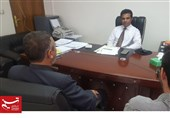 دیدار مدیر بخش زبان اردو خبرگزاری تسنیم و رایزن فرهنگی سفارت پاکستان در تهران