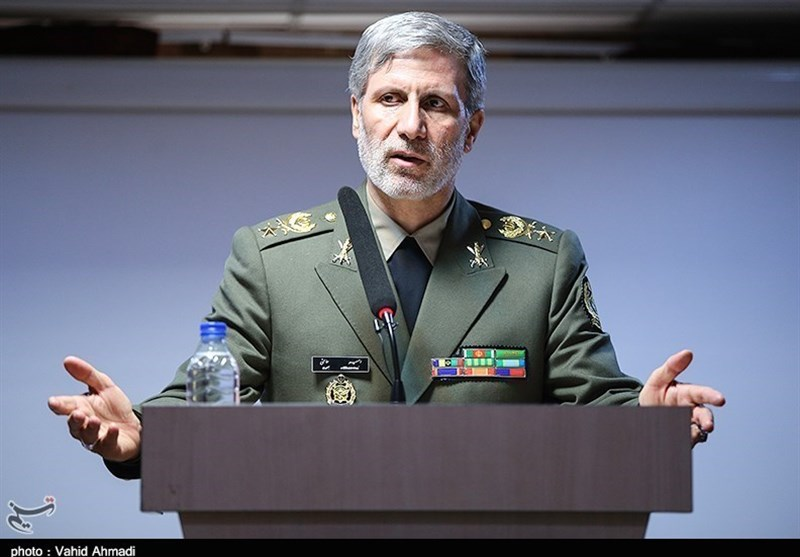 Defense Minister Vows Iran's Push to Ensure Regional Stability