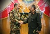 فرماندهکل سپاه با فرماندهکل ارتش دیدار کرد