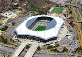استادیوم محل برگزاری دیدار کره - ایران؛ ورزشگاهی مدرن در میان زبالهها