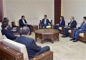 Iranian Diplomat, Syrian President Meet in Damascus