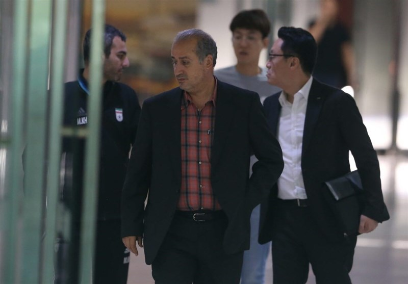 تاج با رئیس فدراسیون کرهجنوبی دیدار میکند