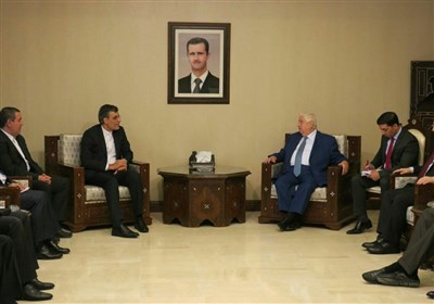 Iranian Diplomat, Syrian FM Discuss Peace Process