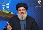 نصرالله خطاب به مبارزان آزاده شده: شما بزرگترین اسطوره پایداری را در تاریخ حزب الله رقم زدید