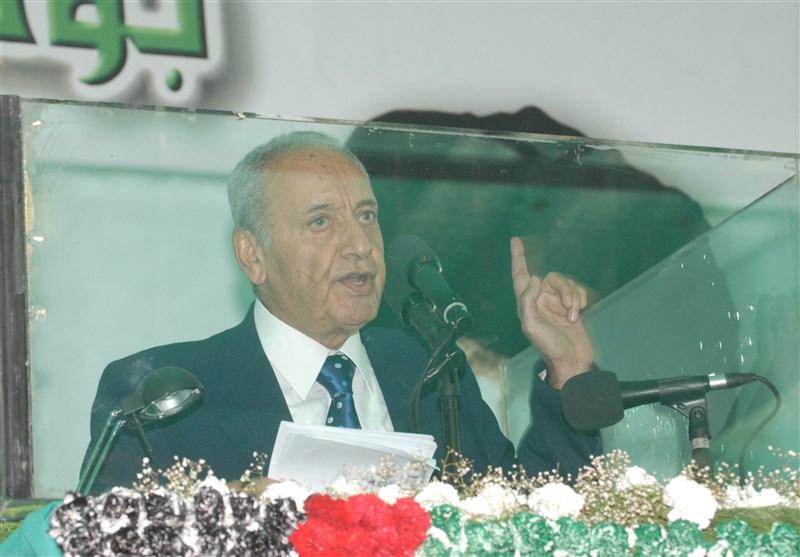 اخبار انتخاباتی لبنان  حضور نبیه بری و پدر سید حسن نصرالله در پای صندوقهای رأی