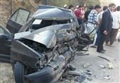 تصادف مرگبار جاده مرودشت _ شیراز 2 کشته و 6 زخمی بر جای گذاشت