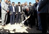 """فاز دوم دهکده قارچ """"نجم"""" در ایوانکی کلنگزنی شد + عکس"""