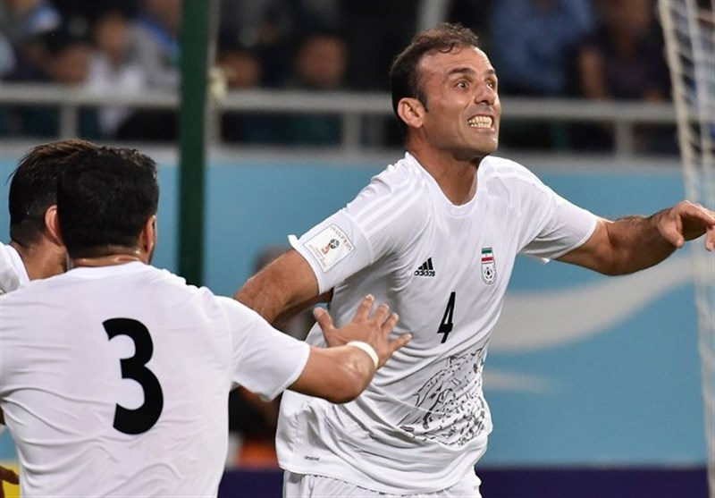 Jalal Hosseini Surpasses Mehdi Mahdavikia's Caps Record for Iran