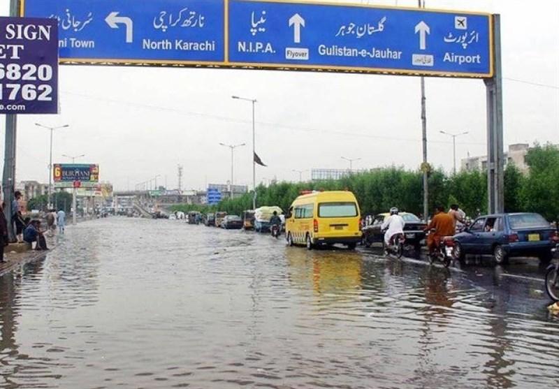 کراچی میں بارش، موسم خوشگوار