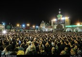 هیاتهای مذهبی به پیشواز محرم رفتند/حرم سیدالکریم(ع) میزبان دستههای عزاداری + فیلم