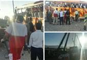 اسامی اجساد شناسایی شده حادثه واژگونی اتوبوس دانشآموزان در داراب اعلام شد