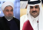 Rouhani Warns of 'Dangerous' Israeli Presence in Region in Talks with Qatari Emir