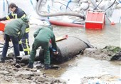 کشف بمب 1400 کیلویی در فرانکفورت+فیلم و تصاویر
