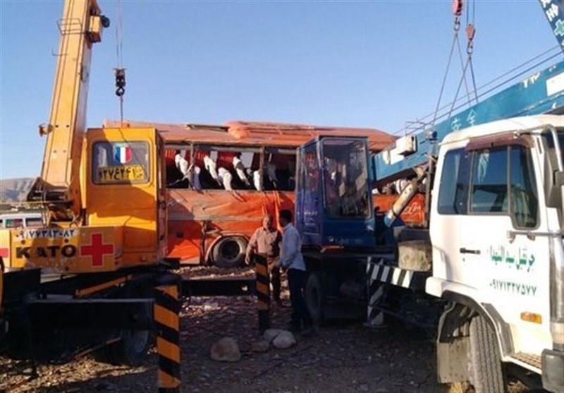 Twelve schoolgirls killed in Iran bus crash