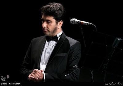 آواز محمد معتمدی در مراسم تشییع بزرگ لشگری + فیلم