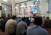 """آئین وداع با پیکر شهید مدافع حرم """"حسن حسنی """" در مهدیشهر برگزار شد"""