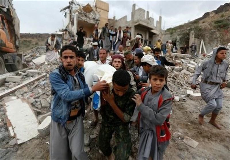 یمن پر سعودی اتحاد کی تازہ ترین جارحیت میں خواتین اور بچوں سمیت 12 مسلمان شہید