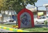 """حال و هوای شهرستان نجفآباد اصفهان برای استقبال از """"شهید حججی"""" بهروایت تصویر"""