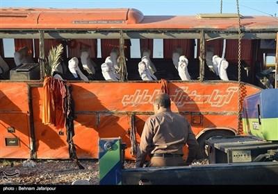 ایران کے صوبہ فارس میں بس الٹنے سے 12 طالبات جاں بحق