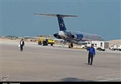 نقص در چرخها عامل نشست اضطراری پرواز بوشهر به تهران