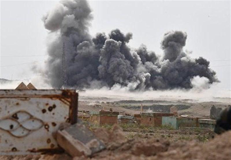 دیرالزور پر روسی لڑاکا طیاروں کے شدید حملے