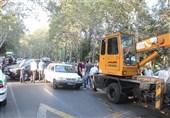 جرثقیل های امدادرسان به جادههای مواصلاتی اردبیل اعزام میشود