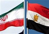 پرچم ایران و مصر