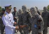 دریادار سیاری از تیپ عملیات ویژه مسلم بن عقیل(ع) بازدید کرد