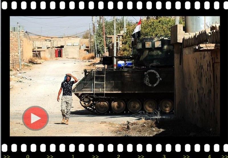 فیدیو وکالة تسنیم عن تحریر مدینة تلعفر... أجهزة أمریکیة فی مرکز اتصالات داعش