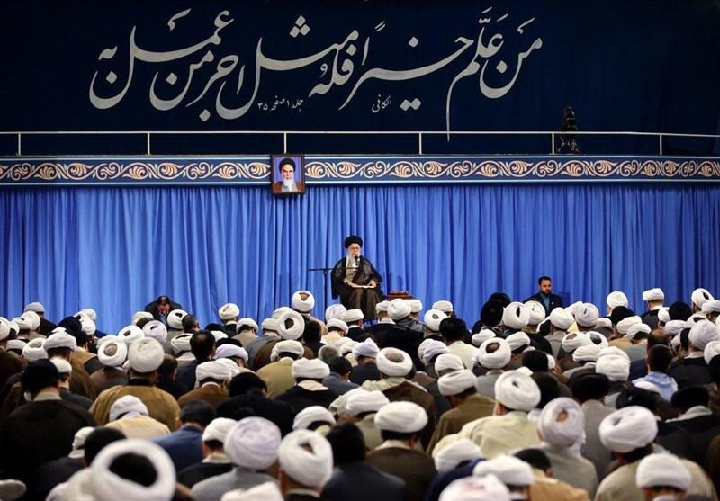 نخستین جلسه درس خارج فقه امام خامنهای در سال تحصیلی جدید برگزار شد