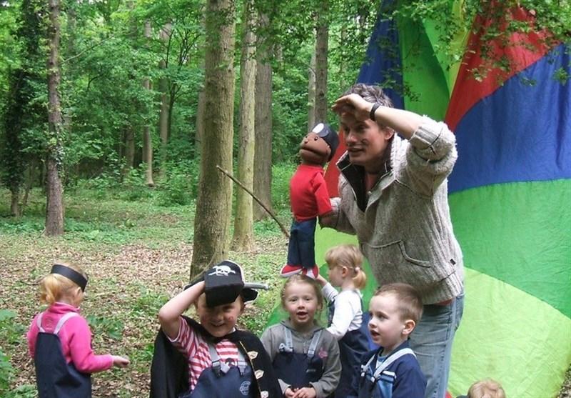 """""""مدرسه جنگلی"""" جایگزین مدرسه سنتی میشود"""