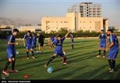 تمرین تیم ملی از فردا پشت درهای بسته