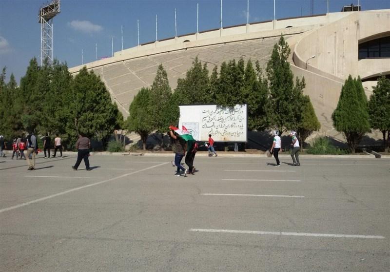 حواشی بازی ایران و سوریه ورزشگاه آزادی