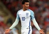 فوتبال جهان| آلی بازی انگلیس مقابل سوئیس را از دست داد