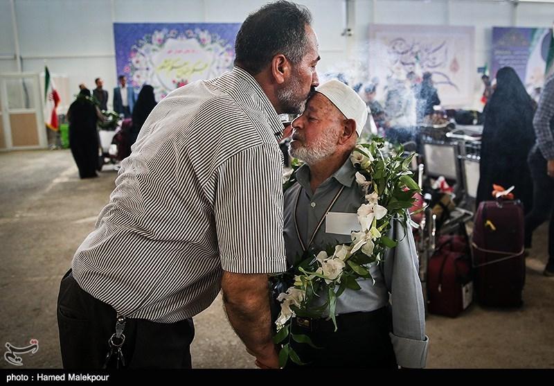 First Batch of Iranian Hajj Pilgrims Return Home