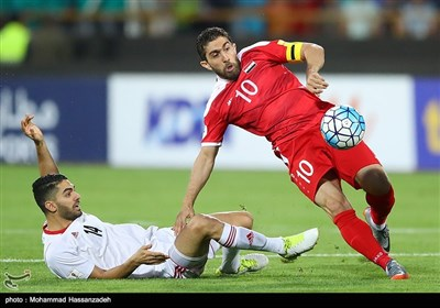 Syria Draw with Iran in 2018 FIFA World Cup Qualification Match