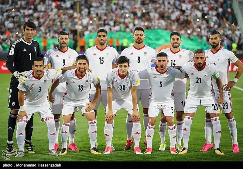 بالصور.. لقاء منتخبی إیران وسوریا لکرة القدم